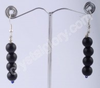Black Obsidian Earring